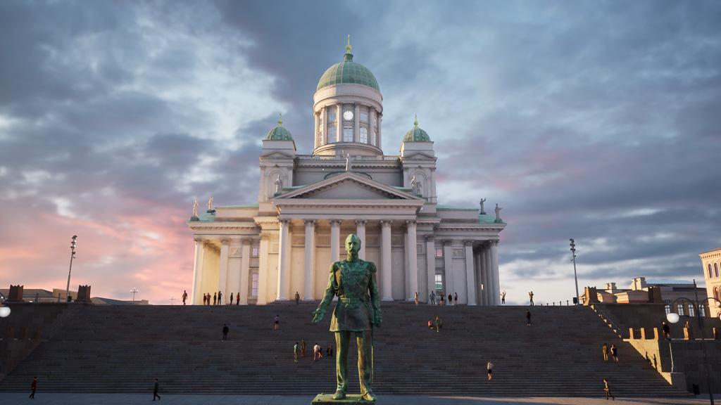 online tour of Helsinki