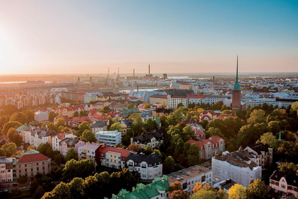 Virtual Helsinki city