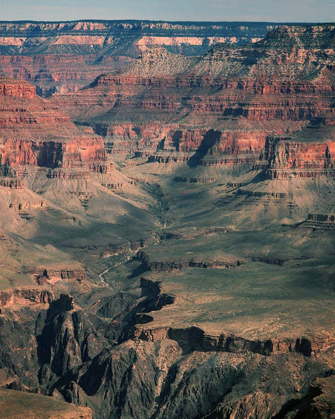 walking trails at the Grand Canyon