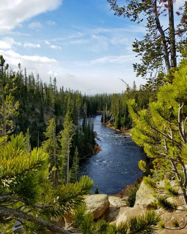Yellowstone trip itinerary