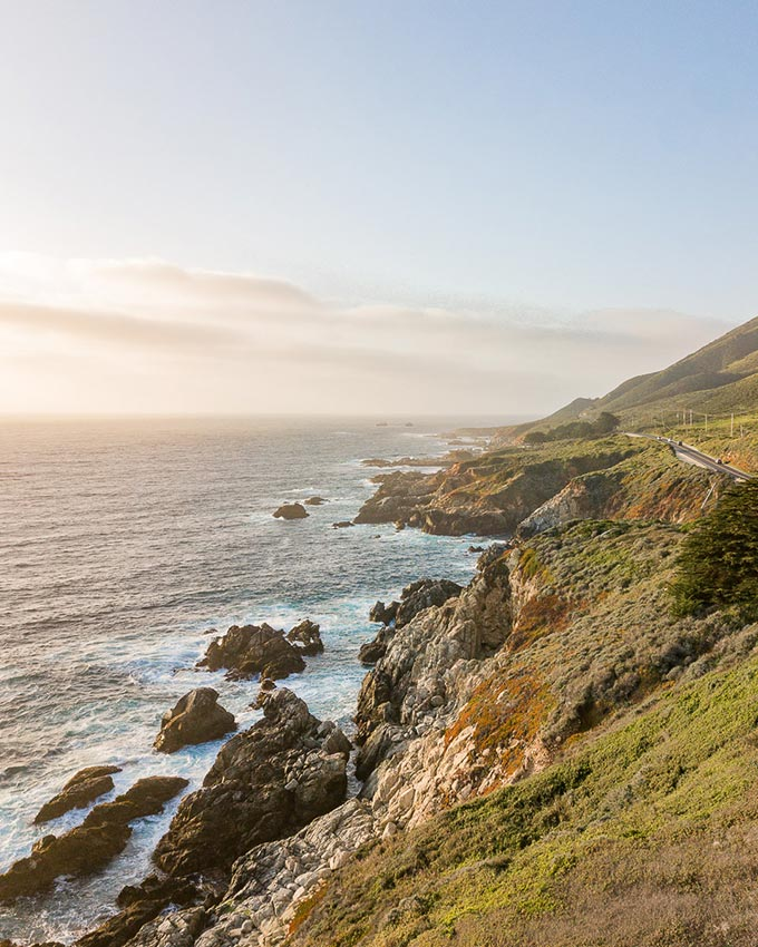 California coast RV trip