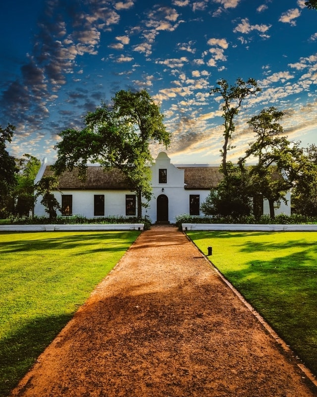 winery weekend in Cape Town